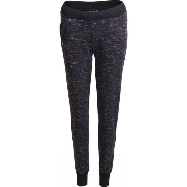 Spodnie dresowe damskie SPDD603 - czarny melanż - Outhorn. Czarne spodnie dresowe damskie marki Outhorn, na lato, melanż, z bawełny. W wyprzedaży za 69,99 zł.