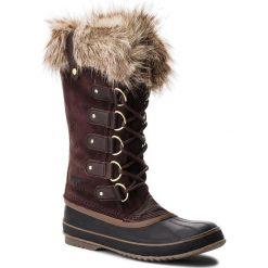 Śniegowce SOREL - Joan Of Arctic NL2429 Cattail 908. Brązowe buty zimowe damskie Sorel, z gumy. Za 799,99 zł.