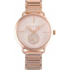 Zegarek MICHAEL KORS - Portia MK3828  Rose Gold/Rose Gold. Żółte zegarki damskie marki Michael Kors. Za 979,00 zł.