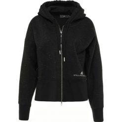 Adidas by Stella McCartney HOODIE Bluza rozpinana black. Czarne bluzy rozpinane damskie adidas by Stella McCartney, l, z bawełny. Za 499,00 zł.