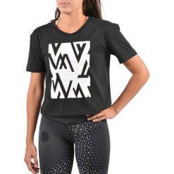 Reebok Koszulka damska Wor CS Easy Tee czarna r. XS ( BQ2336). Szare topy sportowe damskie marki Reebok, l, z dzianiny, casualowe, z okrągłym kołnierzem. Za 103,12 zł.