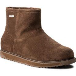 Buty EMU AUSTRALIA - Paterson Classic Mini W11619 Oak. Brązowe buty zimowe damskie marki EMU Australia, ze skóry, na niskim obcasie. Za 679,00 zł.