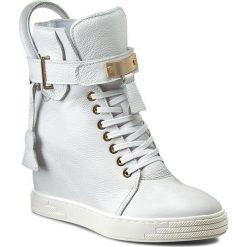 Sneakersy R.POLAŃSKI - 0832 Biały Lico. Białe sneakersy damskie R.Polański, z materiału. W wyprzedaży za 369,00 zł.