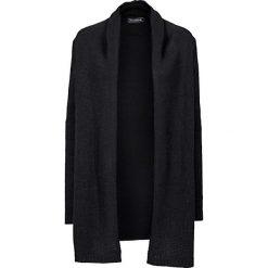 Długi sweter bez zapięcia bonprix czarny. Czarne swetry oversize damskie bonprix. Za 89,99 zł.