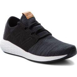 Buty NEW BALANCE - MCRUZKB2 Czarny. Czarne buty do biegania męskie marki New Balance. W wyprzedaży za 269,00 zł.