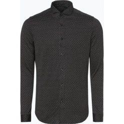 Drykorn - Koszula męska – Solo, czarny. Czarne koszule męskie na spinki marki Cropp, l. Za 499,95 zł.