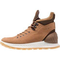 Ecco EXOSTRIKE Buty trekkingowe brown. Brązowe buty trekkingowe męskie ecco, z materiału, outdoorowe. Za 759,00 zł.