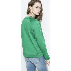 Tally Weijl - Bluza. Czerwone bluzy z nadrukiem damskie marki TALLY WEIJL, l, z dzianiny, z krótkim rękawem. W wyprzedaży za 39,90 zł.