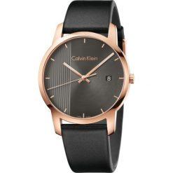 ZEGAREK CALVIN KLEIN CITY K2G2G6C3. Brązowe zegarki męskie Calvin Klein, szklane. Za 1099,00 zł.