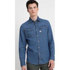 GStar 3301 SHIRT L/S Koszula light weight trell denim. Niebieskie koszule męskie na spinki G-Star, l, z bawełny. Za 369,00 zł.