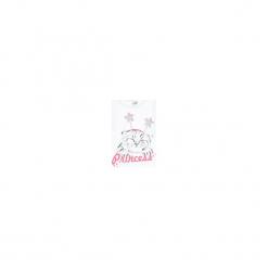 Bluzka dziewczęca. Białe bluzki dziewczęce marki FOUGANZA, z bawełny. Za 14,99 zł.