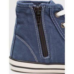 Mustang Tenisówki i Trampki wysokie jeansblau. Niebieskie tenisówki męskie marki Mustang, z materiału. Za 209,00 zł.