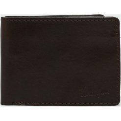 Wrangler - Portfel skórzany. Czarne portfele męskie Wrangler, z materiału. Za 269,90 zł.