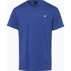 G-Star - T-shirt męski, niebieski. Niebieskie t-shirty męskie marki G-Star, m, z dżerseju. Za 39,95 zł.