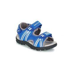 Sandały sportowe Dziecko  Geox  J S.STRADA A. Niebieskie buty sportowe chłopięce marki Geox. Za 231,20 zł.