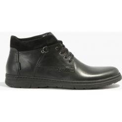 Czarne kozaki Antonio. Czarne buty zimowe męskie Badura. Za 263,99 zł.