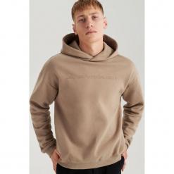 Bluza z kapturem ReDesign - Beżowy. Brązowe bluzy męskie rozpinane marki LIGNE VERNEY CARRON, m, z bawełny. Za 139,99 zł.