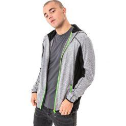 Bluzy męskie: 4f Bluza męska H4L18-BLMF004 jasnoszara r. L