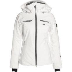 J.LINDEBERG MOFFIT DERMIZAX  Kurtka narciarska white. Białe kurtki sportowe damskie marki J.LINDEBERG, m, z materiału, narciarskie, dermizax. W wyprzedaży za 2183,20 zł.