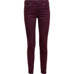 Odzież damska: Polo Ralph Lauren SATEEN SKI Jeansy Slim Fit vintage burgundy