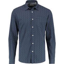 Koszule męskie na spinki: Shine Original CASUAL Koszula dark navy