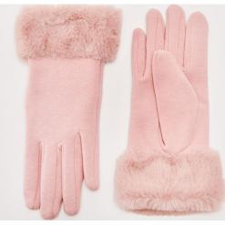 Rękawiczki z futerkiem - Różowy. Czerwone rękawiczki damskie House. Za 29,99 zł.