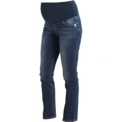 Boyfriendy damskie: Spring Maternity WALLIS  Jeansy Straight leg dark blue denim
