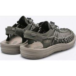 Keen - Sandały. Szare sandały męskie marki Keen, z materiału, z okrągłym noskiem. W wyprzedaży za 269,90 zł.