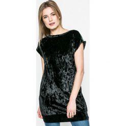 Answear - Sukienka Sporty Fusion. Szare sukienki mini ANSWEAR, na co dzień, l, z elastanu, casualowe, proste. W wyprzedaży za 39,90 zł.