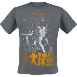 T-shirty męskie z nadrukiem: Star Wars Asian Vintage T-Shirt ciemnoszary
