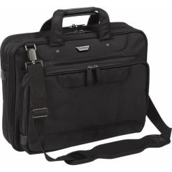 """Targus Corporate Traveller15.6"""" czarna. Czarne torby na laptopa Targus, z materiału. Za 349,00 zł."""
