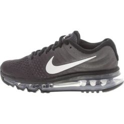 Buty sportowe chłopięce: Nike Performance AIR MAX 2017 Obuwie do biegania treningowe black/summit white/anthracite/metallic silver