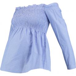 Bluzki asymetryczne: Anna Field MAMA Bluzka light blue/white