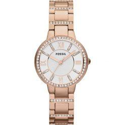Fossil VIRGINIA Zegarek rosegoldcoloured. Różowe zegarki damskie marki Fossil, szklane. Za 459,00 zł.