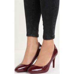 Bordowe Czółenka Emaa. Czerwone buty ślubne damskie Born2be, na szpilce. Za 59,99 zł.
