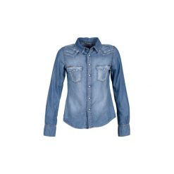 Koszule Acquaverde  MENPHIS. Niebieskie koszule nocne i halki Acquaverde, l. Za 463,20 zł.
