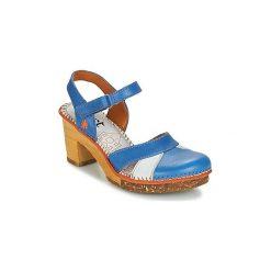 Sandały Art  AMSTERDAM 313. Niebieskie sandały damskie Art. Za 471,20 zł.