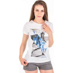 T-shirty damskie: 4f T-Shirt damski 4F H4L18-TSD015 10S biały r. XL