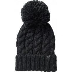 FOX Czapka Damska Czarny Valence. Szare czapki zimowe damskie marki FOX, z bawełny. Za 119,00 zł.