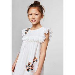 Sukienki dziewczęce z falbanami: Mango Kids - Sukienka dziecięca Clot 110-152 cm