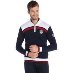 Swetry męskie: Sweter w kolorze granatowym