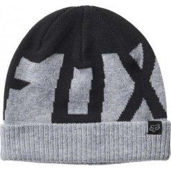 FOX Czapka Męska Ridge Beanie Update Szara. Szare czapki męskie marki FOX, z bawełny. Za 134,00 zł.