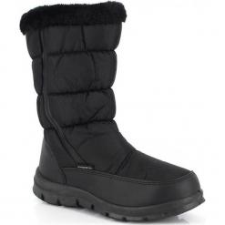 """Kozaki zimowe """"Cindy"""" w kolorze czarnym. Szare buty zimowe damskie marki Marco Tozzi. W wyprzedaży za 136,95 zł."""