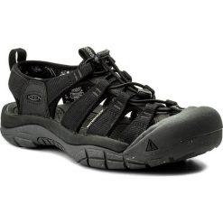 Sandały KEEN - Newport Eco 1018803  Black/Magnet. Czarne sandały męskie skórzane marki Keen. W wyprzedaży za 299,00 zł.