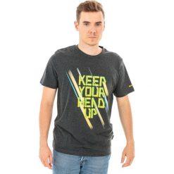 Hi-tec Koszulka męska HOOF Dark Grey Melange r. XXL. Szare koszulki sportowe męskie Hi-tec, m. Za 24,69 zł.