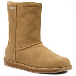 Buty EMU AUSTRALIA - Paterson Lo W10771 Chestnut. Brązowe buty zimowe damskie marki EMU Australia, z gumy. W wyprzedaży za 519,00 zł.