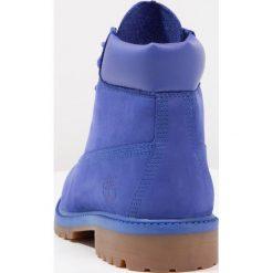 Timberland 6 IN PREMIUM WP BOOT Botki sznurowane royal blue. Niebieskie botki damskie skórzane marki Timberland, na sznurówki. W wyprzedaży za 353,40 zł.