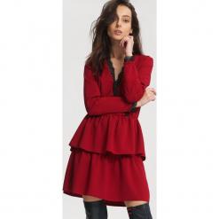 Czerwona Sukienka Deep Love. Czerwone sukienki koktajlowe other, uniwersalny. Za 69,99 zł.