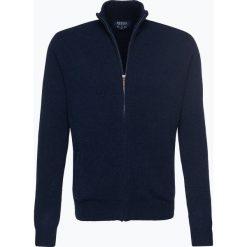 Mc Earl - Kardigan męski, niebieski. Niebieskie swetry rozpinane męskie Mc Earl, m, z wełny. Za 179,95 zł.
