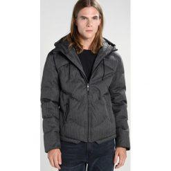 Urban Classics HERRINGBONE  Kurtka zimowa grey/black. Niebieskie kurtki męskie zimowe marki Urban Classics, l, z okrągłym kołnierzem. Za 379,00 zł.